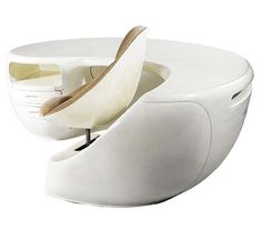 BOOMERANG DESK by MAURICE CALKA RE-ISSUED