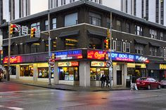 The Original Hot Dog Shop (aka Dirty O's) in Pittsburgh, PA.  This place is a local institution!