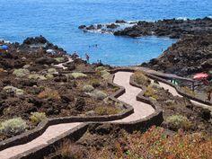 """El Hierro """"La Isla del Meridiano"""": Playa El Tacorón en la isla de El Hierro"""