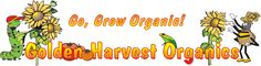 Golden Harvest Organics - Wonderful site with organic pest and disease solutions, companion planting, and other garden solutions!