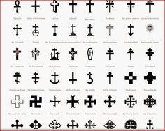 tipos de cruces - Buscar con Google