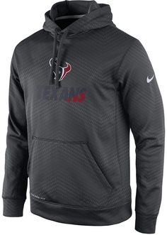 cf0394729 Stay warm and support the Houston Texans with this Nike NFL Sideline KO  Fleece hoodie.