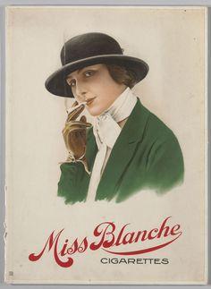 Miss Blanche cigarettes