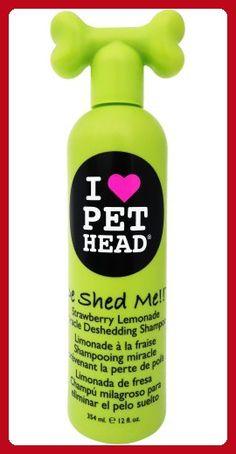 Pet Head De Shed Me!! Miracle Deshedding Shampoo 12oz - For our pretty pets (*Amazon Partner-Link)