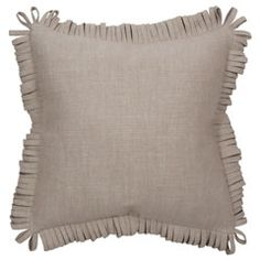 V Rugs & Home Rita Oatmeal Decorative Pillow