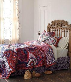 décoration intérieur bohême | Teva DECO : Une chambre bohème ...