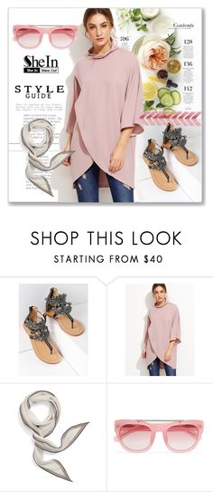 """""""SheIn Style Guide"""" by interesting-times ❤ liked on Polyvore featuring Martha Stewart, Hermès and Erdem"""