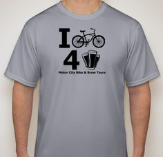 I Bike 4 Beer T-Shirt