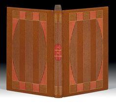 CANTIQUE DES CANTIQUES (Le). Traduction de Ernest Renan. Paris, F.-L. Schmied, 1925.  Binding:  Semet & Plumelle