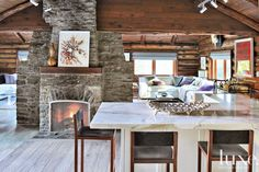 Inside the World's Chicest Log Cabin via @MyDomaine