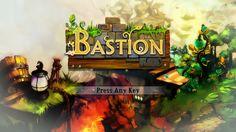 Bastion Title Screen