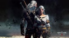 Vídeo Game The Witcher 3: Wild Hunt  Geralt Of Rivia Ciri (The Witcher) Papel de Parede