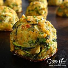 This tasty zucchini garlic bites recipe combines shredded zucchini with garlic, Parmesan cheese, fresh herbs, and is served with a marinara dipping sauce for an Italian inspired twist.