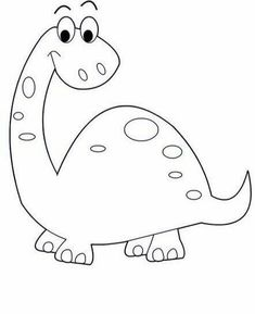 Dinosaur 2984 32 free coloring Source by esmazisan Art Drawings For Kids, Drawing For Kids, Easy Drawings, Coloring Pages For Kids, Coloring Sheets, Coloring Books, Free Coloring, Adult Coloring, Applique Templates