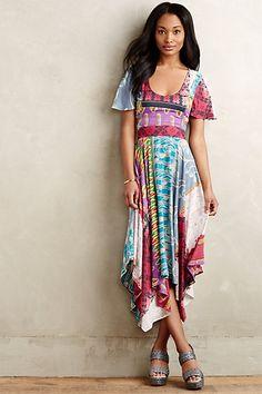 Kantha Midi Dress #anthropologie This dress wants to go to Mexico.