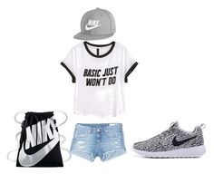 """Untitled #3"" by jaidabowen ❤ liked on Polyvore featuring H&M, rag & bone/JEAN and NIKE"