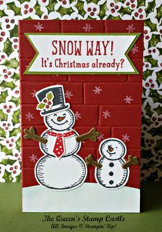 Hearth & Home Framelit Dies, Snow Place Stamps, Snow Friends Framelits