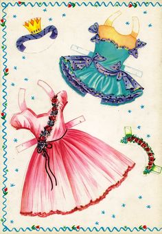 Saalfield | BALLET PAPER DOLLS | Little Ballerinas from 1950s |  6 of 6
