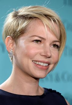 I keep pinning michelle williams - but I love this sorta grown up undercut!