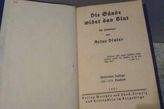 Arthur Dinter. The Sin Against the Blood. (Deutsche Historisches Museum)