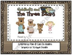Goldilocks and the Three Bears Emergent Reader (free printable)