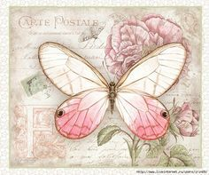 BUTTERFLY, DECOUPAGE PRINTABLE
