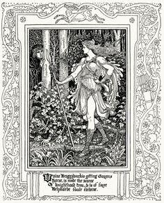 Spenser's Faerie Queene - Walter Crane 11
