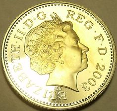 Gem Cameo Proof Great Britain 2003 10 New Pence~Only 100,... - bidStart (item 28055265 in Coins & Paper Money... Other)