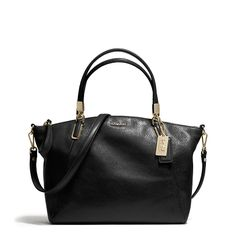 Madison Small Kelsey Satchel In Leather | Hudson's Bay