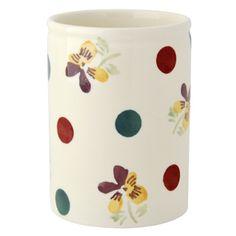 Polka Pansy Small #Vase https://www.emmabridgewater.co.uk/invt/1pan011433