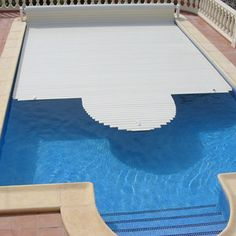 Pool cover with a built-in alarm system from Sensor Espio helps to prevent pool accidents from turning into tragic events. The alarm system includes a powerful siren and a wireless indoor remote alarm that has a 100' range.