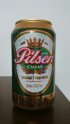 Pilsen - Perú; Beer Can