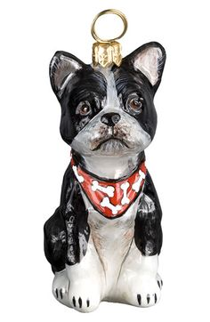 Joy to the World Collectibles 'Boston Terrier' Ornament available at #Nordstrom