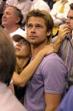 Brad Pitt, Jennifer Aniston. she had him at his best.