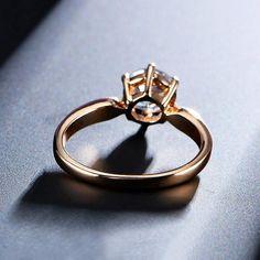 Australian Crystal Wedding Ring