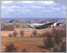 Spitfire & V-1 RonaldWong Deadly Chase