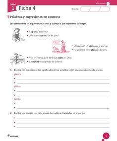 Cuaderno Actividades Lenguaje 3º Spanish Worksheets, Marti, Grammar, Writer, Amor, Reading Comprehension, Reading Comprehension, 2nd Grade Books, Nouns And Adjectives