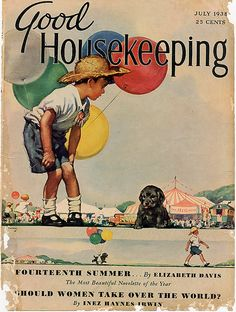 Good Housekeeping magazine cover, July 1938