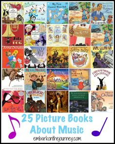 What to Read: 25 Music Picture Books