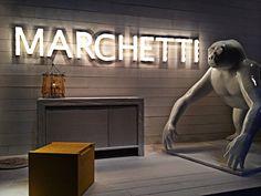 Marchetti Booth Entrance