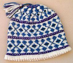 Ravelry: Rhapsody Fair Isle Hat pattern by Terry Morris