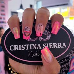 Neon Nails, Dope Nails, Nails On Fleek, Acrylic Nail Designs, Nail Art Designs, Acrylic Nails, Nail Spa, Manicure And Pedicure, Gorgeous Nails