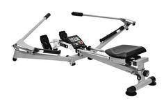 awesome Christopeit 9904 - Máquina de remo para fitness ( plegable ), color negro / plata, talla 132x159x70 cm