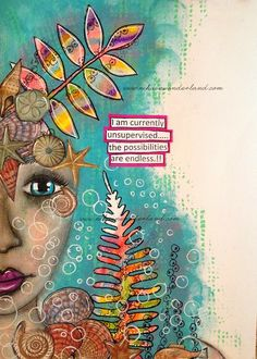 NIKA IN WONDERLAND: MIXED MEDIA