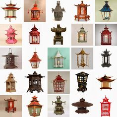 Asian Architecture, Interior Architecture, Interior And Exterior, Chinese Pagoda, Chinese Lanterns, Chinese Lamps, Garden Lanterns, Chinese Furniture, Asian Decor