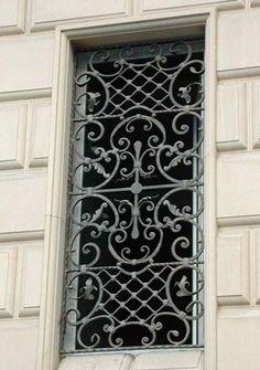 Window Grate / upgrade those plain old ugly burglar bars