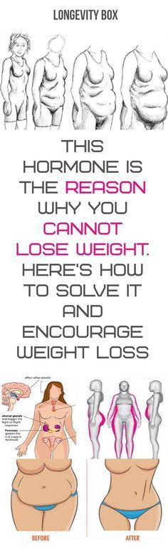 THIS HORMONE IS THE REASON WHY YOU CANNOT LOSE WEIGHT. HERE'S HOW TO SOLVE IT AND ENCOURAGE WEIGHT LOSS