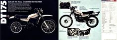 Yamaha DT175 Sales Brochure 1980 | Flickr - Photo Sharing!
