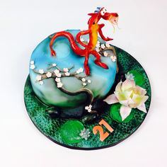 Mushu hand crafted - www.thelincolncakecompany.co.uk.