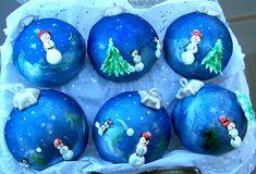 Cake-Ball Ornaments